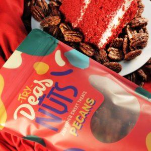 Red Velvet Cake Pecans
